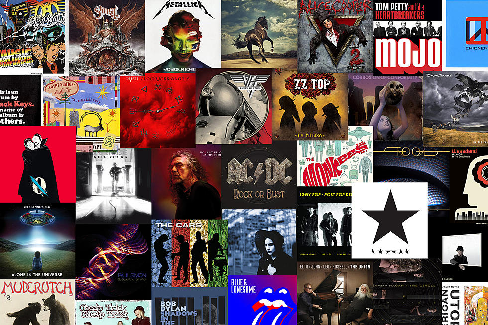 New rock music albums 2019