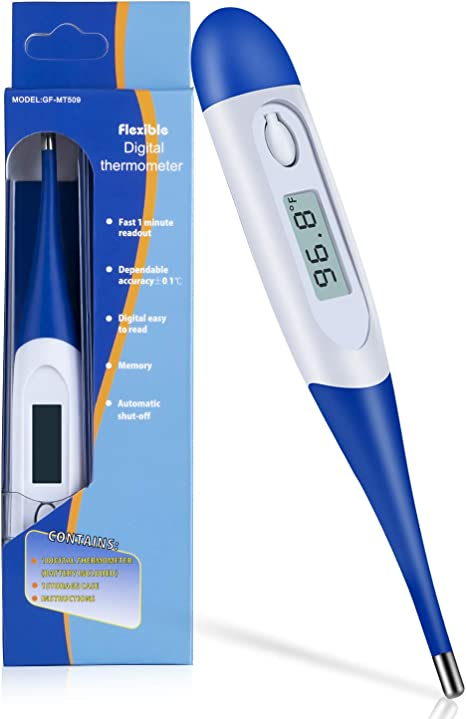 Old ladies anal thermometer