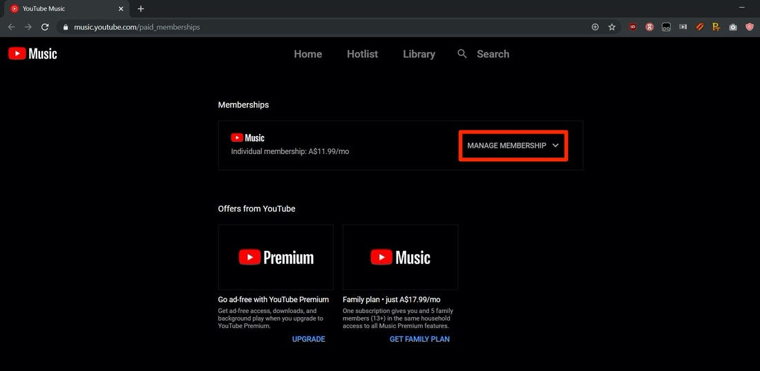 Is youtube music free to use